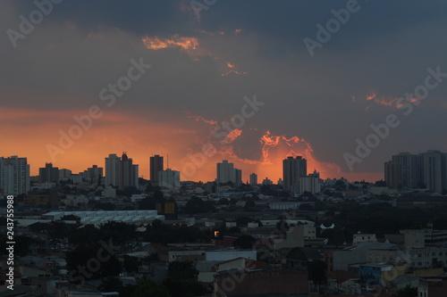 Sunset at Rio de Janeiro