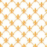 Golden baroque rich luxury vector pattern - 243805709