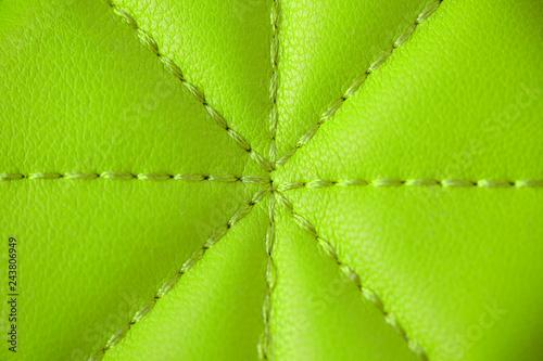 Leinwandbild Motiv leather bright stitched background image