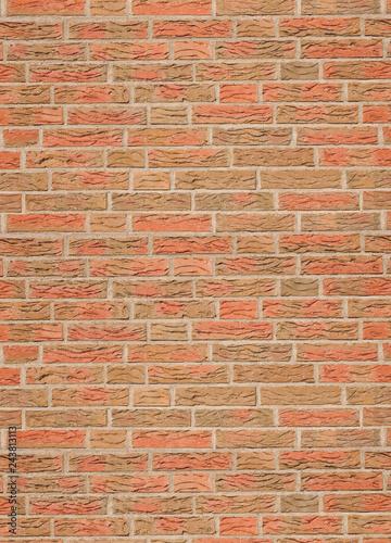 Mauer aus Ziegelstein - 243813113