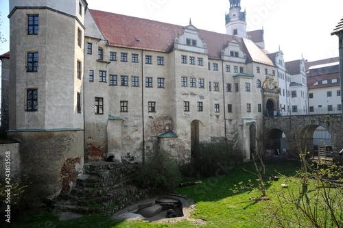 Wall mural Torgau, Bärengehege am Schloß