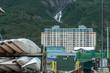 Whittier, Alaska, USA - September 13, 2013: All Whittier residents living in one building