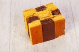 Tasty Sponge cake - 243873903