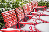red chairs - 243889765