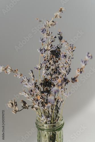 wild flowers in a vase - 243896713