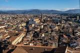 Fototapeta Do pokoju - Firenze, panorama della città © scabrn