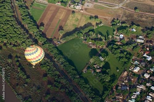 Fridge magnet Hot air balloon