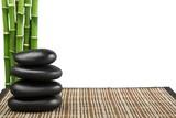Balancing Pebbles with Bamboo