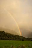 Fototapeta Tęcza - Regenbogen in Neuseeland © matzeg88