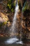 Waterfall Dzhur-Dzhur. Autumn in the Crimea. Travels. Golden autumn