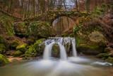 Schiessentümpel ist ein malerischer Wasserfall