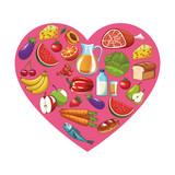 healthy food design - 243947940