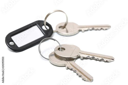clé sur fond blanc © guy