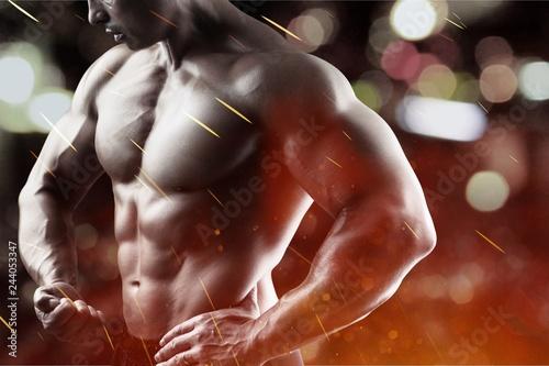 Sticker Bodybuilder.