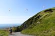 Vols de parapentes à la montagne