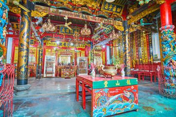 Visit historic Long Shan Tang Clan Temple, Yangon, Myanmar