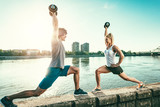 So Many Benefits Of Outdoors Exercise - 244199527