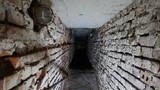 Schron przeciwlotniczy - korytarz