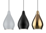 pendant lamp isolated - 244274328