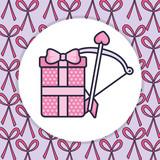 love arrow and bow - 244279984