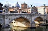 Fototapeta Fototapety pomosty - View of Rome © Gioia