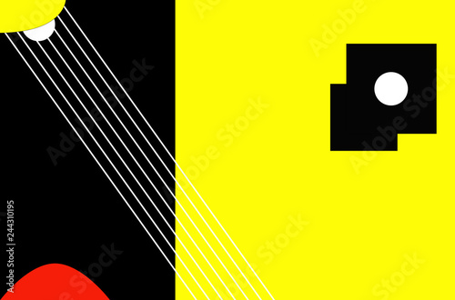 Bright color background in avant-garde style. Texture units for celebration and advertising. - 244310195
