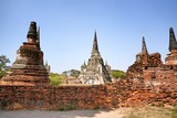 The Wat Mongkol Bophit is a Buddhist temple located in Ayutthaya, Thailand. This place also be one of ayutthaya historical park. - 244339927