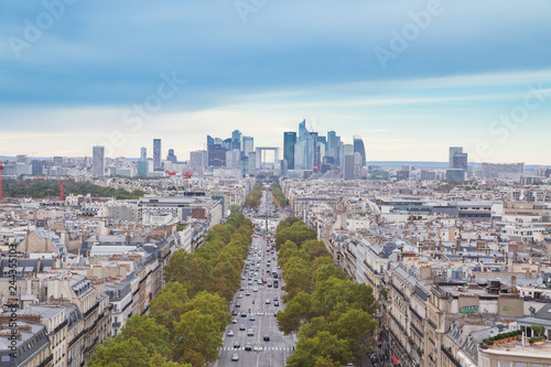 Sticker Paris- Vue aérienne