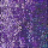 abstract vector square pixel mosaic background - 244355908