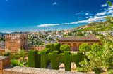 Fototapeta Miasto - The famous Alhambra palace in Granada, Spain © Horváth Botond