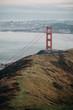 Trail to Golden Gate Bridge