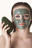 Natural organic face mask - 244450180