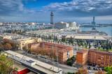 Fototapeta Fototapety miasto - Aerial view of the city of Barcelona, Spain © ImageArt