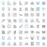 recreation icons set - 244474971