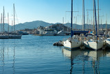 Marmaris, an old town on the Mediterranean - 244479703