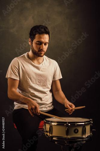 professional drummer - 244489157
