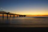 Fototapeta Fototapety pomosty - bridge after the sunset © darea62