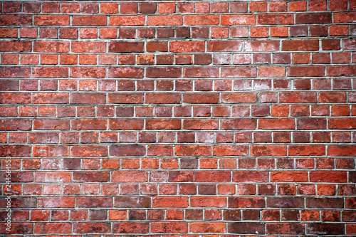 Old brick wall background - 244564553