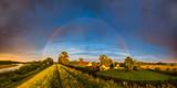 Fototapeta Rainbow - Nadwiślańskie pejzaże © grzegorzkom
