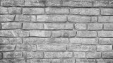 Gray background made from concrete bricks - 244660725