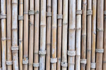Bamboo wall pattern background