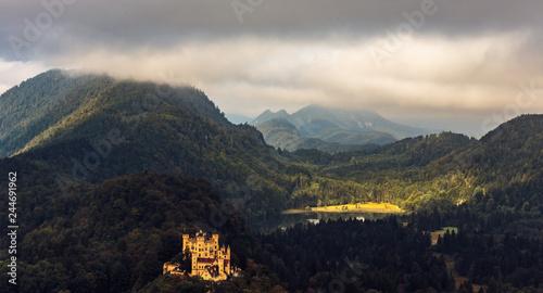 Poster Bavarian Fairy Tale Landscape