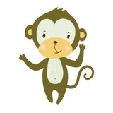 illustration of a monkey
