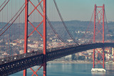 Fototapeta Fototapety pomosty - Bridge 25 de Abril Lisbon © Angelo