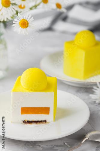 Sticker dessert to tea