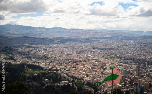 Fridge magnet Bogota, Colombia