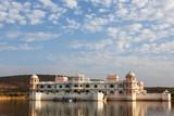 Palace in Nahargarh lake, India - 244796358