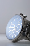 Hand watch from stainless steel with sapphire watch face.