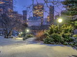 Fototapeta Nowy Jork - Central Park, New York City in winter © John Anderson