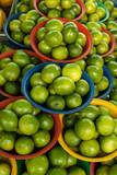 limes in baskets